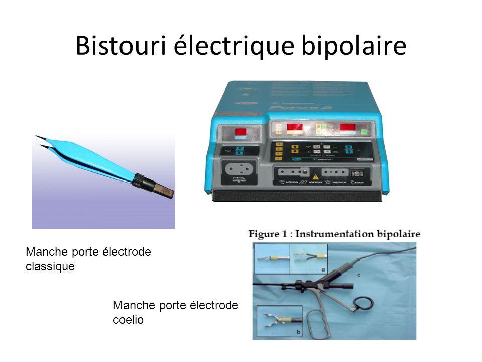 Bistouri électrique bipolaire