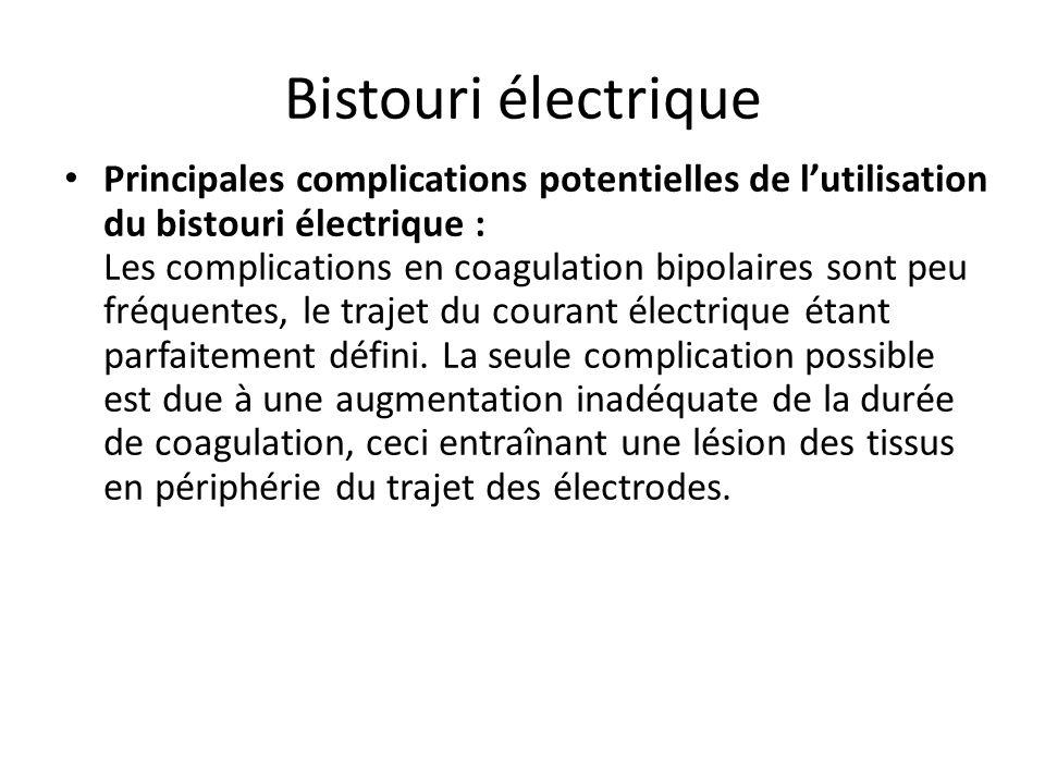Bistouri électrique