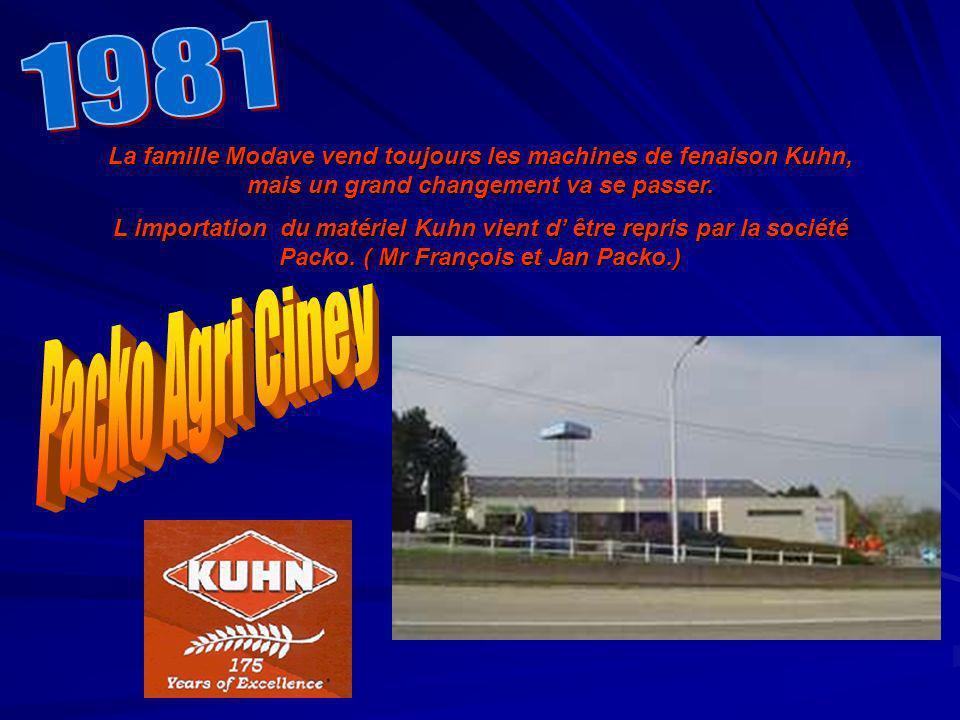 1981 La famille Modave vend toujours les machines de fenaison Kuhn, mais un grand changement va se passer.