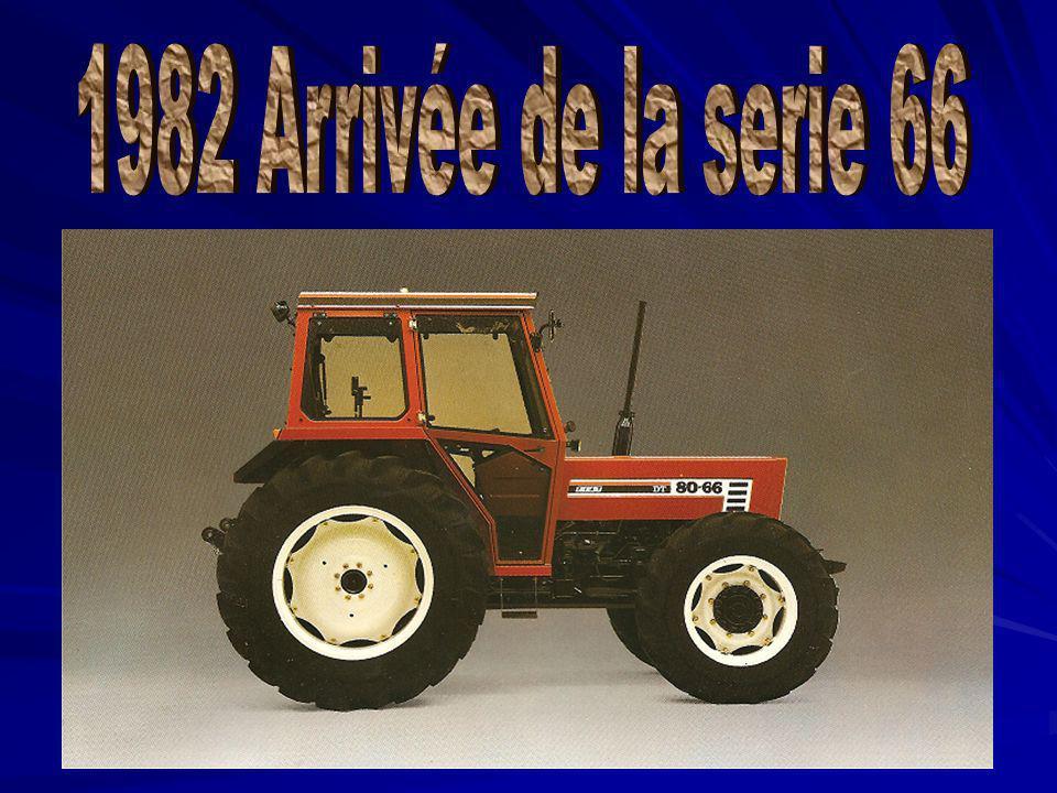 1982 Arrivée de la serie 66