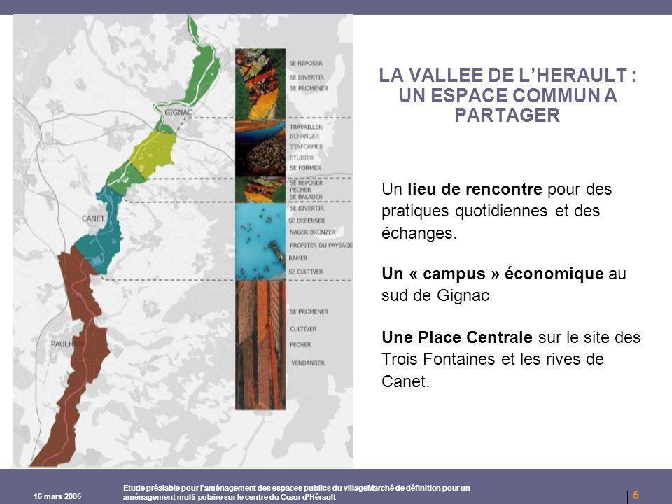 LA VALLEE DE L'HERAULT : UN ESPACE COMMUN A PARTAGER