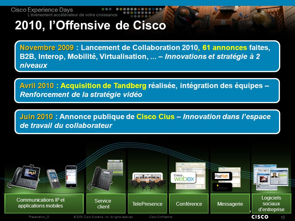 2010, l'Offensive de Cisco