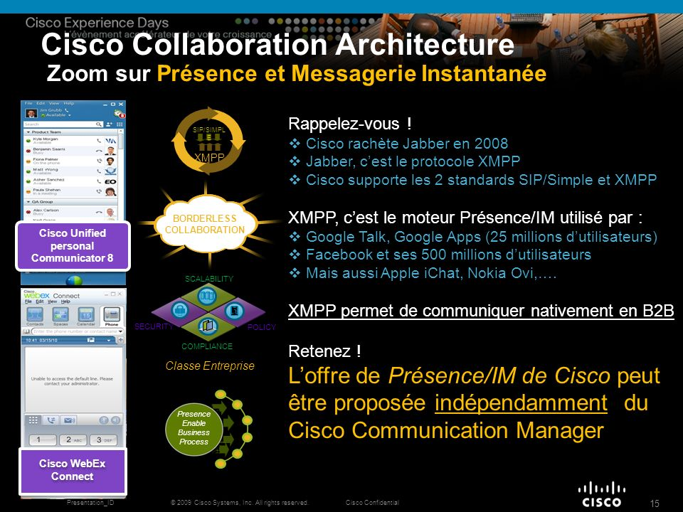 BORDERLESS COLLABORATION Cisco Unified personal Communicator 8