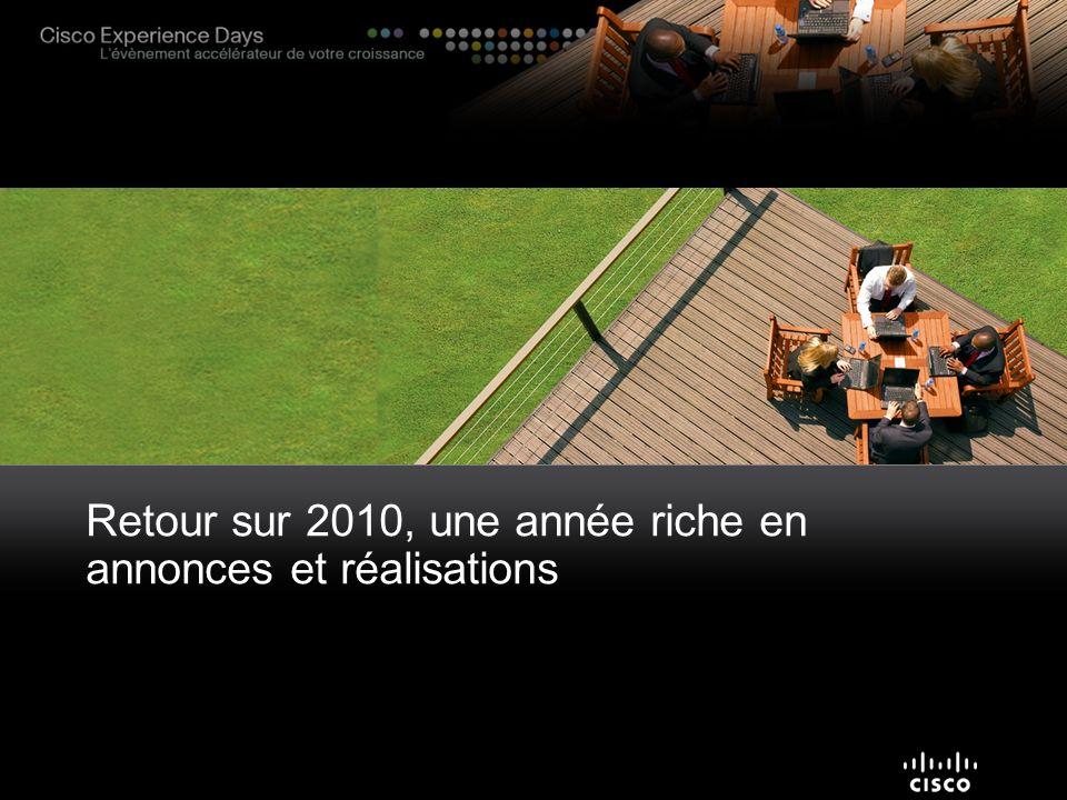 Retour sur 2010, une année riche en annonces et réalisations
