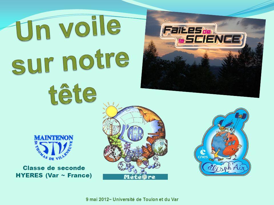 Un voile sur notre tête Classe de seconde HYERES (Var ~ France)