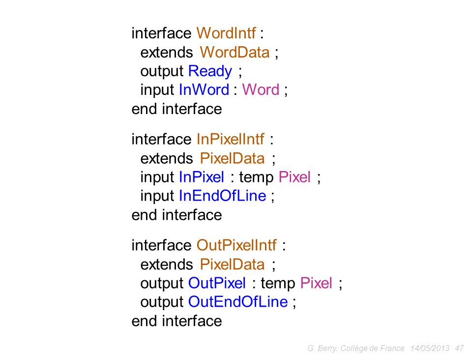 interface InPixelIntf : extends PixelData ;