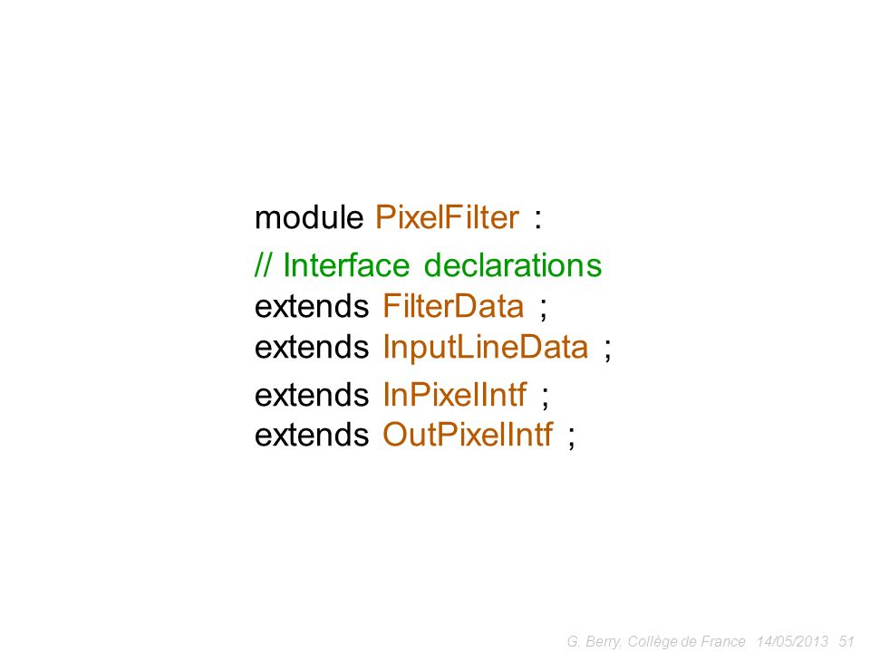 // Interface declarations extends FilterData ; extends InputLineData ;