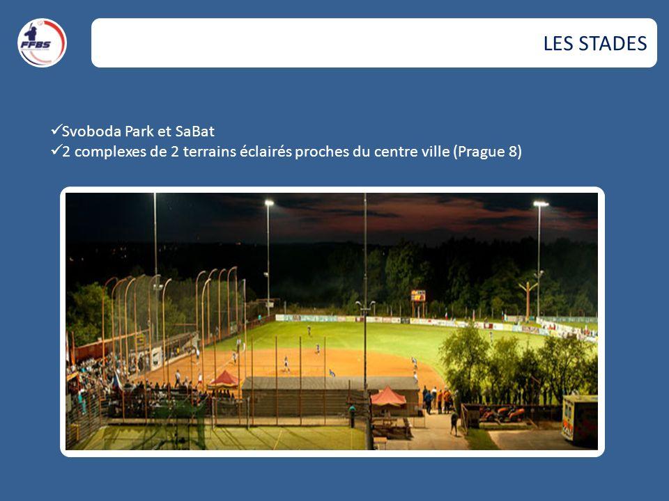 LES STADES Svoboda Park et SaBat