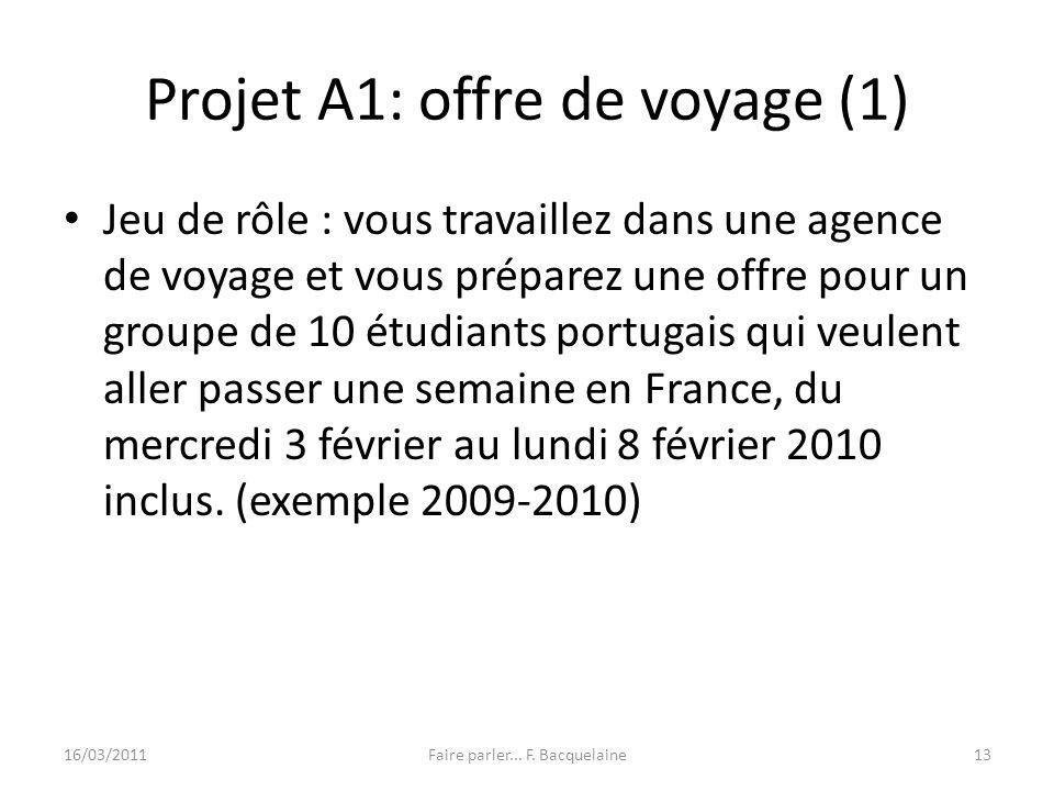 Projet A1: offre de voyage (1)