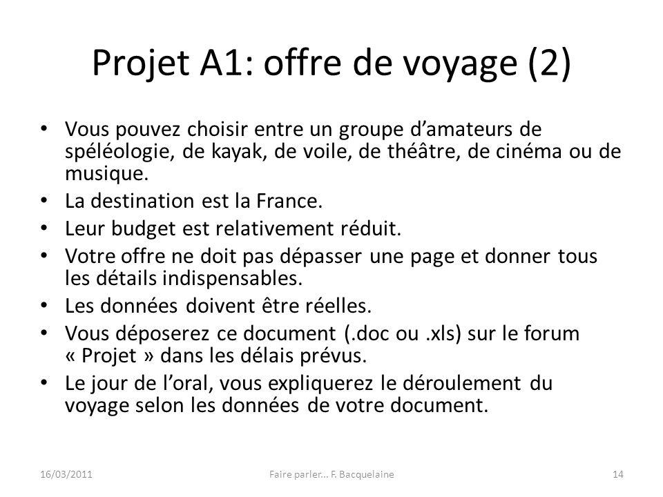Projet A1: offre de voyage (2)