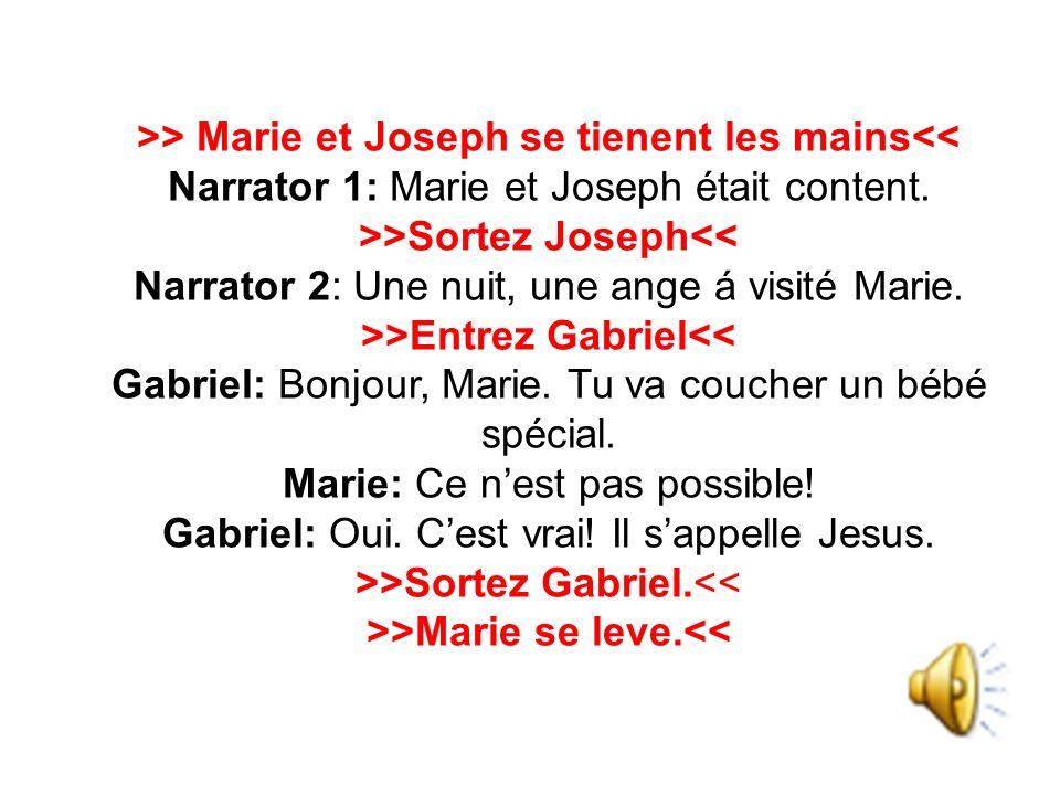 >>Marie se leve.<<
