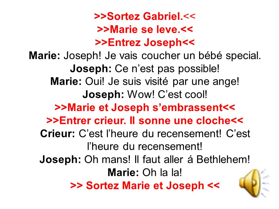 >> Sortez Marie et Joseph <<