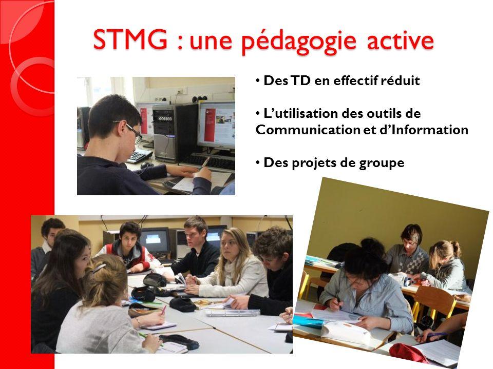 STMG : une pédagogie active