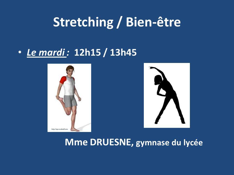 Stretching / Bien-être