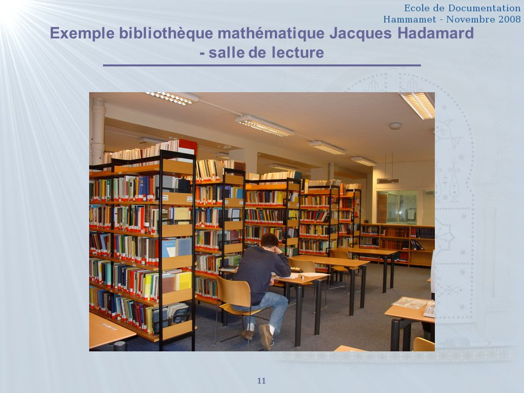Introduction La Biblioth Conomie Ppt T L Charger # Creer Une Bibliotheque