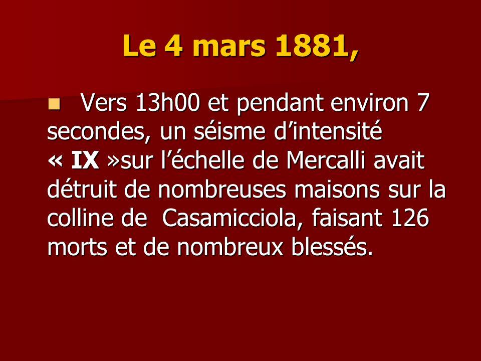 Le 4 mars 1881,