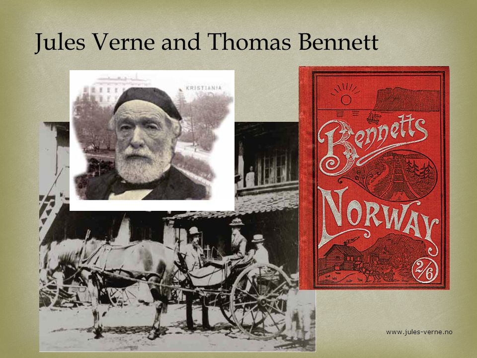 Jules Verne and Thomas Bennett