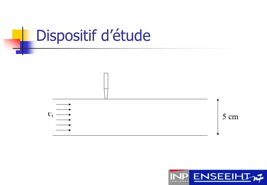 Dispositif d'étude Uf 5 cm