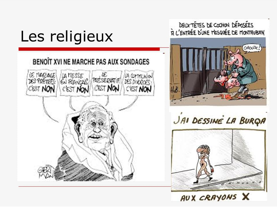 Les religieux