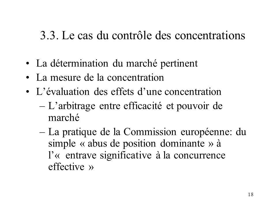 3.3. Le cas du contrôle des concentrations