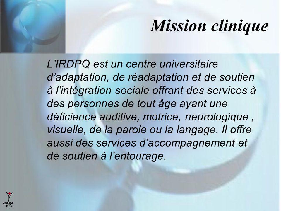 Mission clinique