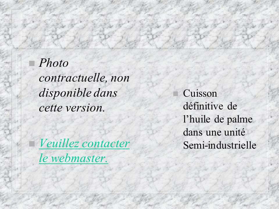 Photo contractuelle, non disponible dans cette version.