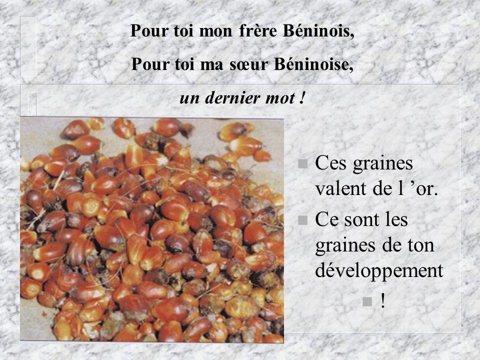 Pour toi mon frère Béninois, Pour toi ma sœur Béninoise,