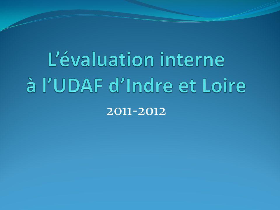 L'évaluation interne à l'UDAF d'Indre et Loire