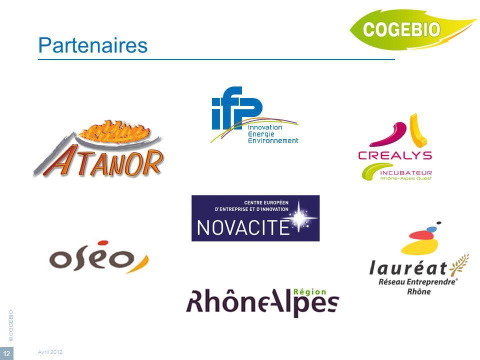 Partenaires Avril 2012