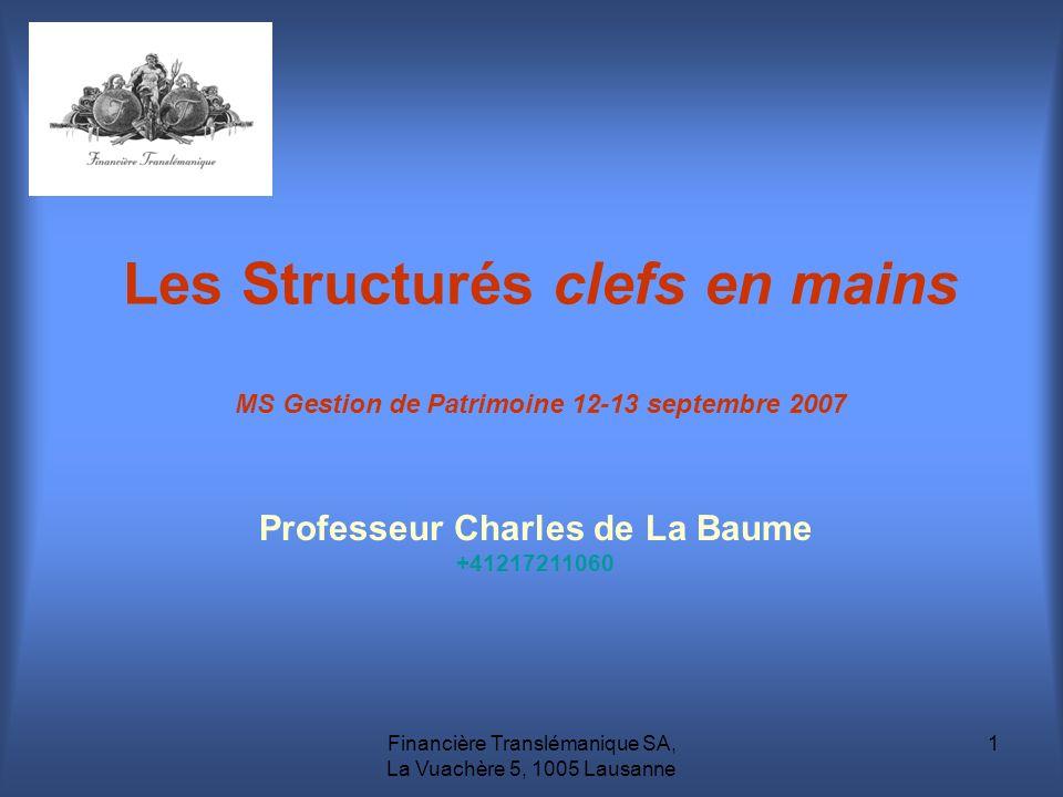 Professeur Charles de La Baume