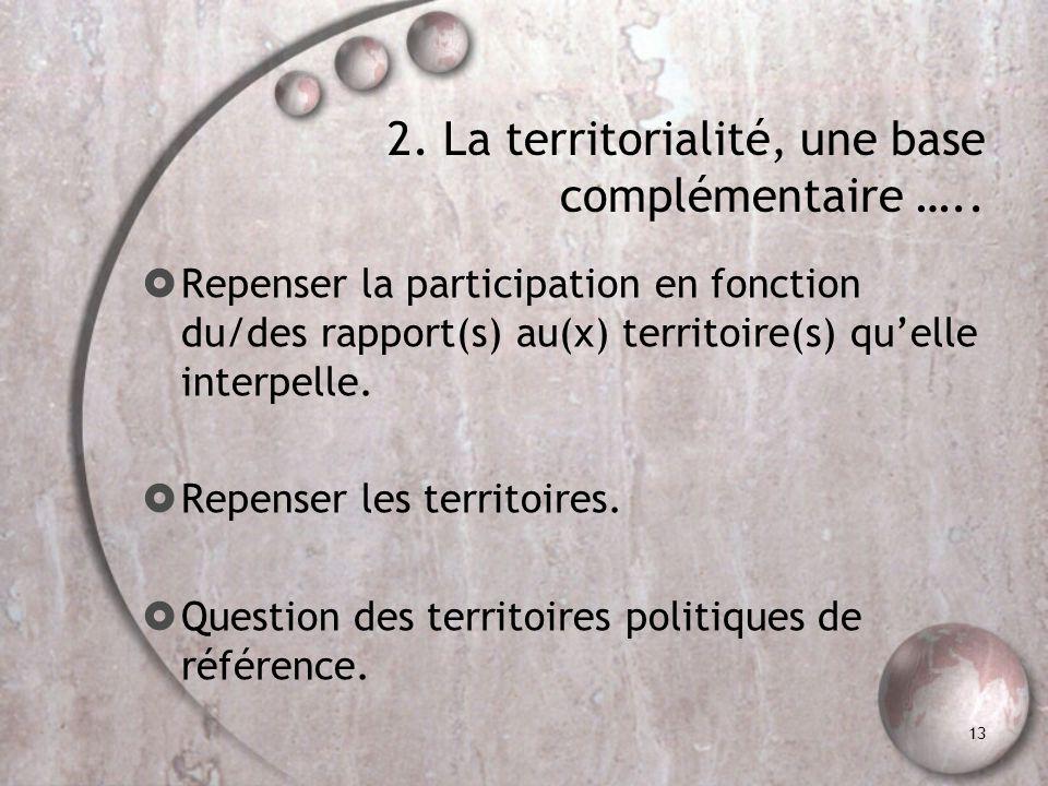 2. … À la mesure de la participation