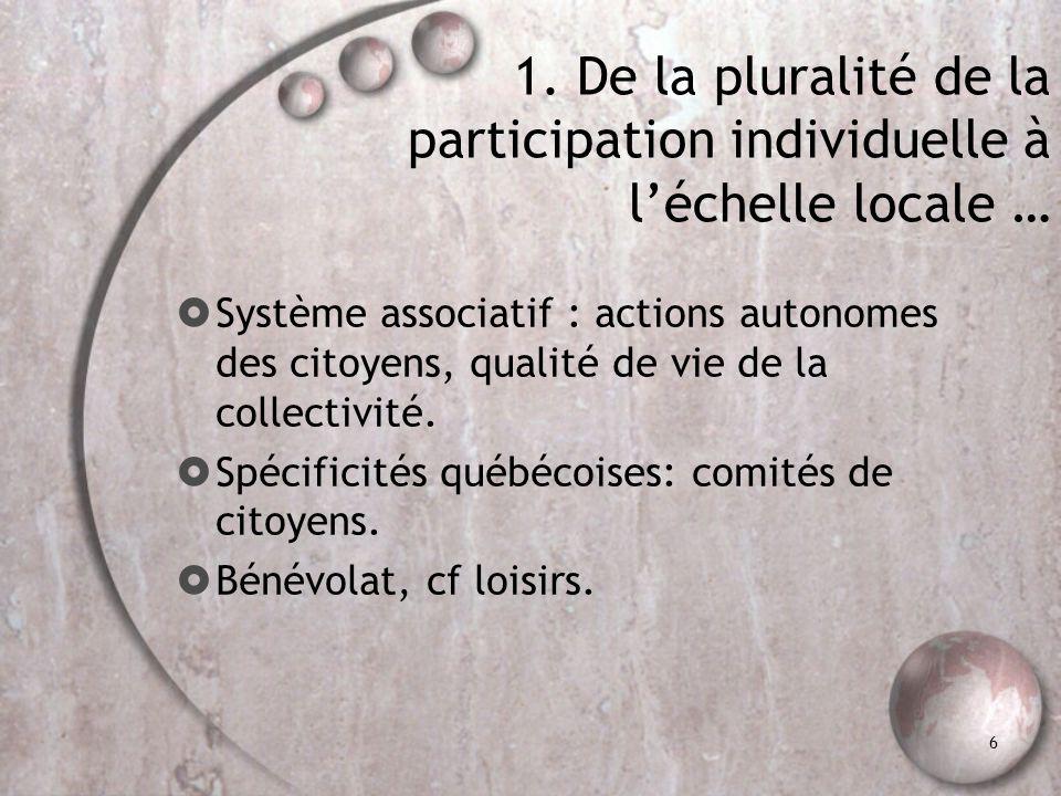1. … À l'uniformité des instruments de mesure.