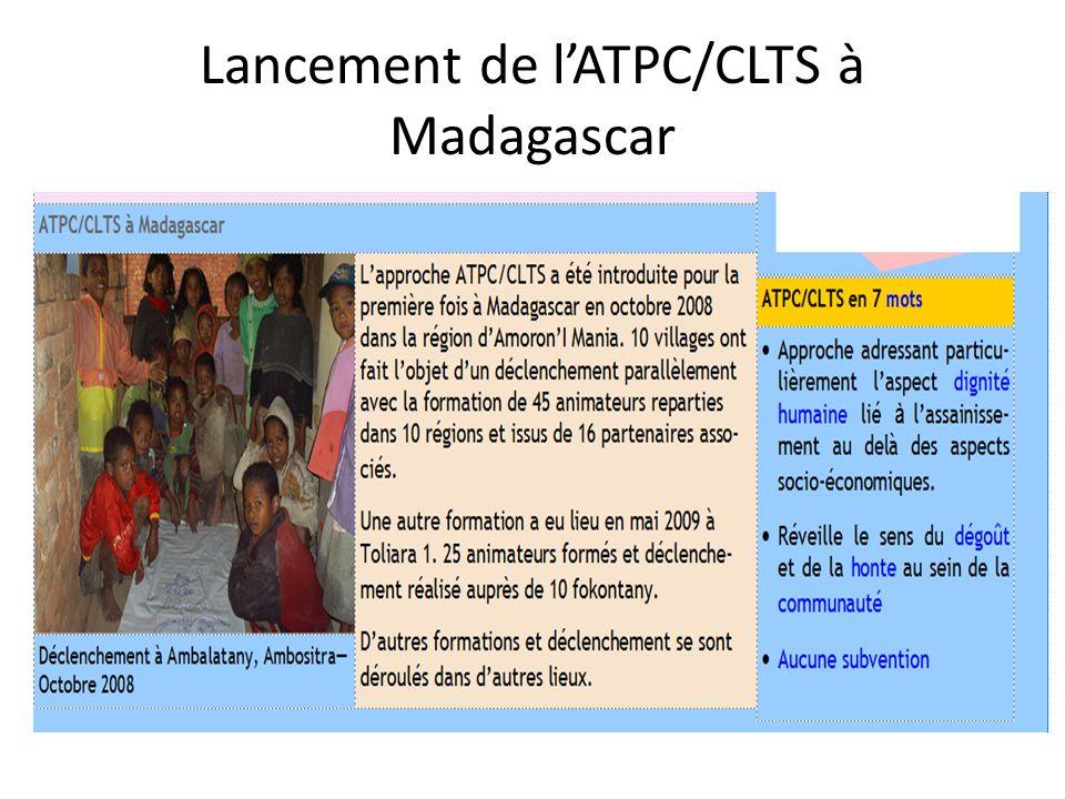 Lancement de l'ATPC/CLTS à Madagascar