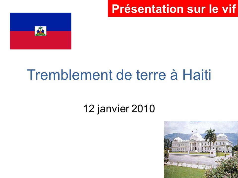 Tremblement de terre à Haiti