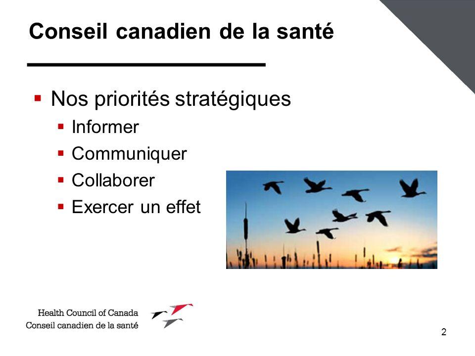 Conseil canadien de la santé