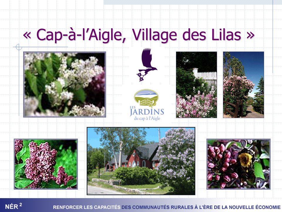 « Cap-à-l'Aigle, Village des Lilas »