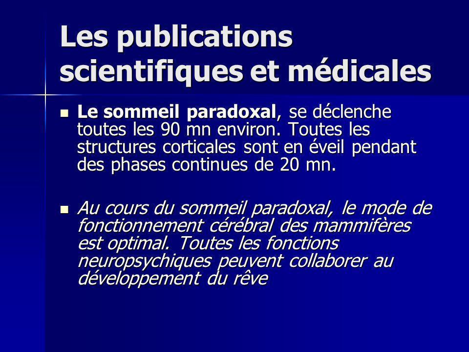 Les publications scientifiques et médicales