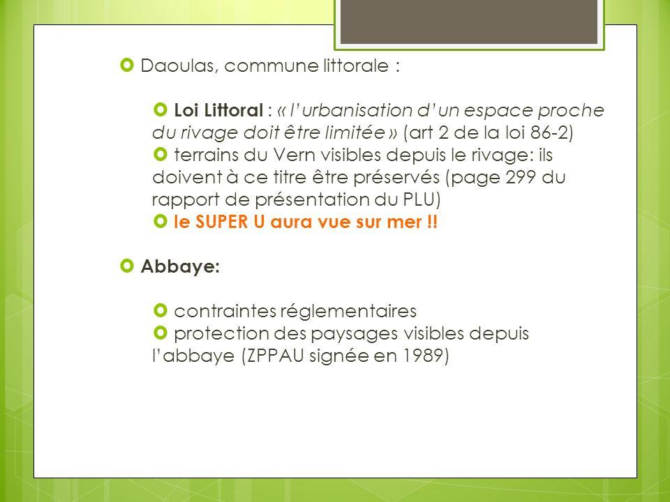 Daoulas, commune littorale :