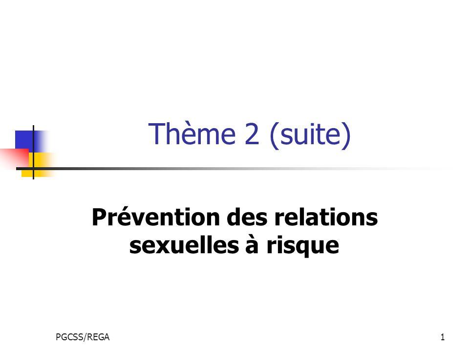 Prévention des relations sexuelles à risque