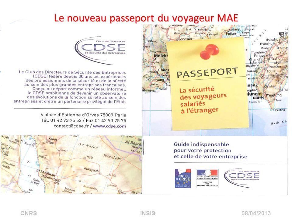 Le nouveau passeport du voyageur MAE