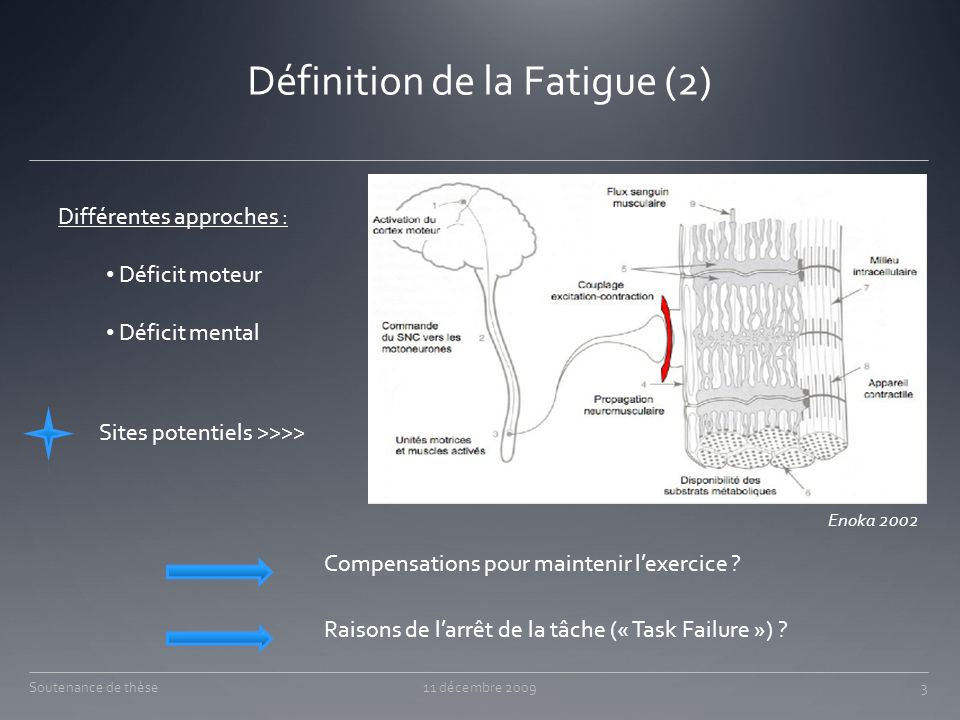 Définition de la Fatigue (2)