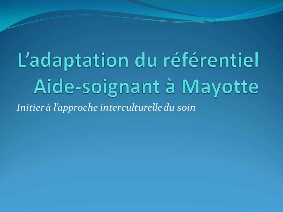 L'adaptation du référentiel Aide-soignant à Mayotte