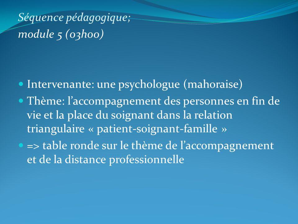 Séquence pédagogique;
