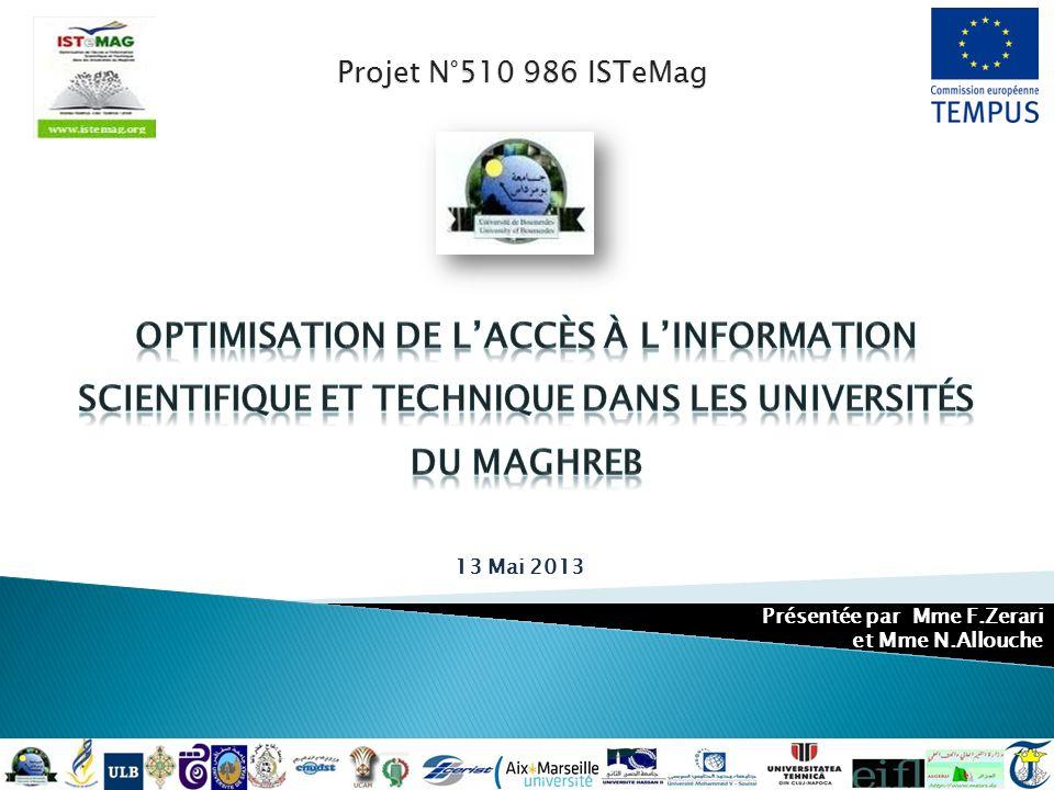 Optimisation de l'accès à l'information