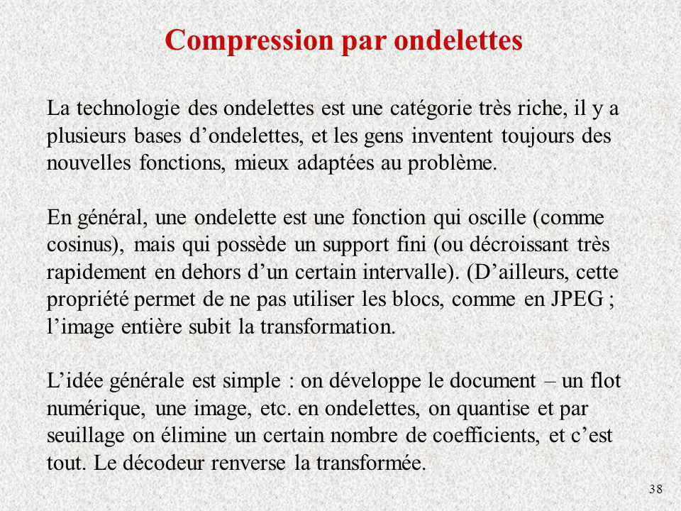 Compression par ondelettes