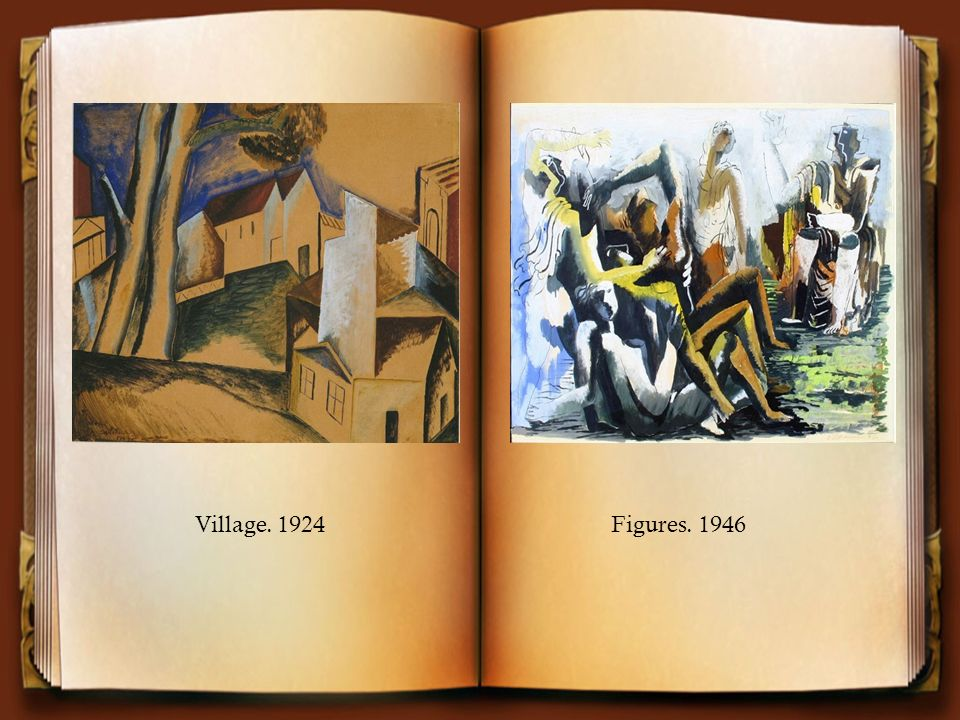 Village. 1924 Figures. 1946
