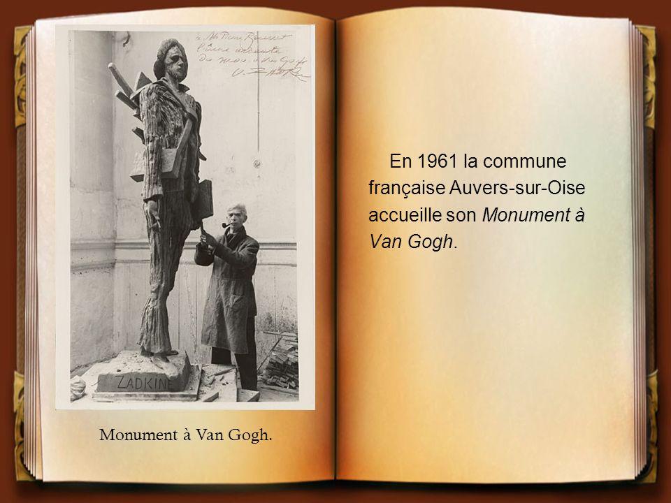 française Auvers-sur-Oise accueille son Monument à Van Gogh.