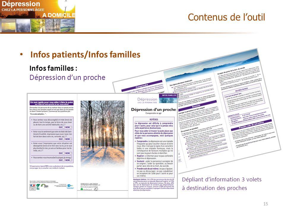 Infos patients/Infos familles