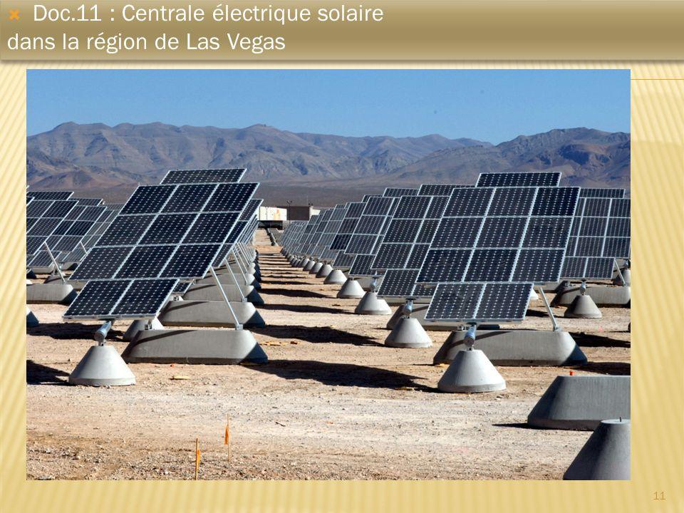 Doc.11 : Centrale électrique solaire