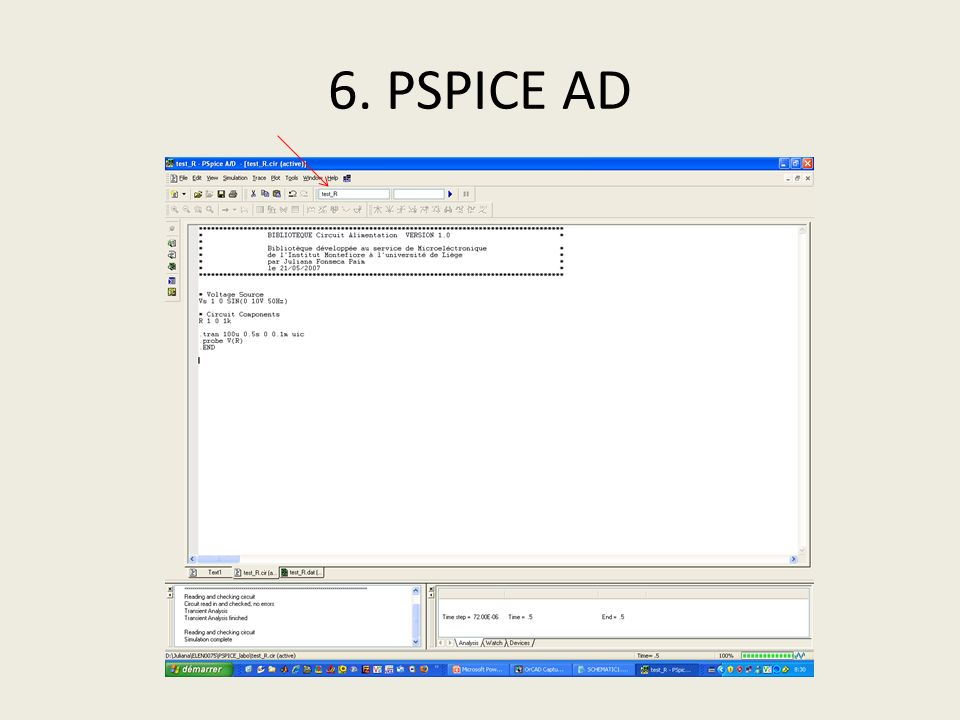 6. PSPICE AD